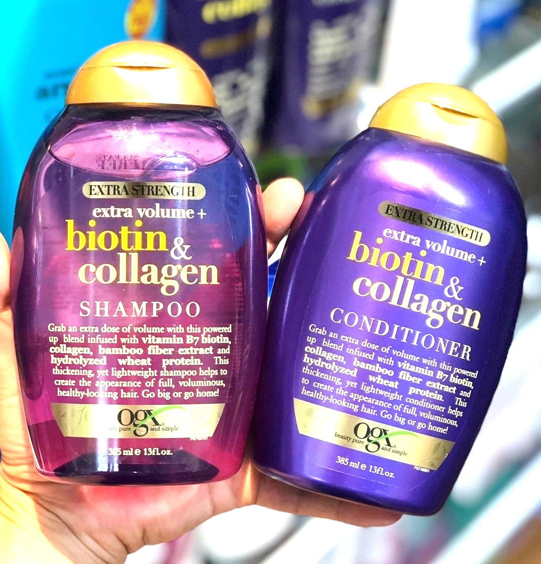 dau goi biotin collagen ogx moc toc cua my tri trung toc hoi dau 4 - Lựa chọn dầu gội trị rụng tóc như thế nào? Top những sản phẩm dầu gội tốt nhất